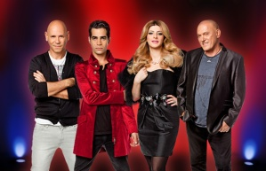 Mentors on Israel's The Voice