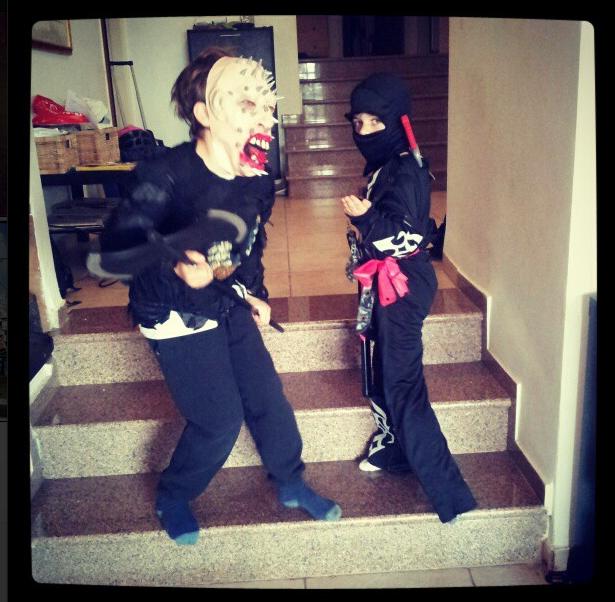 scary purim costume