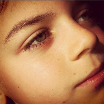 oliver freckles march 2014