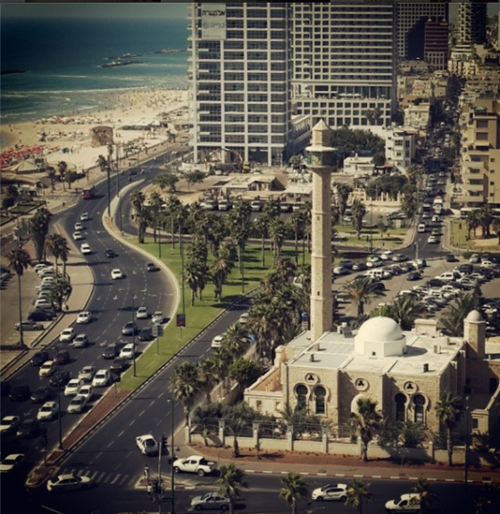 view from dan panorama tel aviv