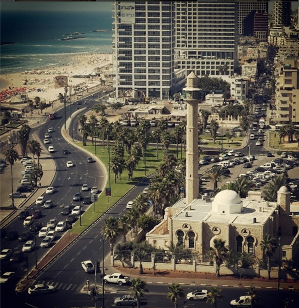view from dan panorama tel aviv